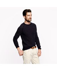J.Crew - Blue Galloway Norwegian Sweater for Men - Lyst