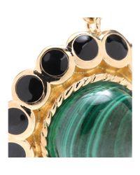 Isharya | Green Maharani 18kt Goldplated Malachite Earrings | Lyst