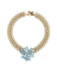 Lulu Frost | Metallic Snake Necklace 29 | Lyst