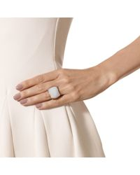 Monica Vinader | Metallic Baja Square Ring | Lyst