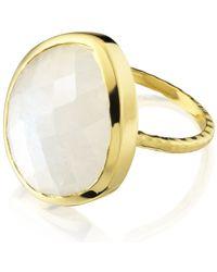 Monica Vinader - Metallic Nugget Ring Large - Lyst