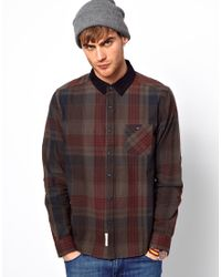 Native Youth - Red Shirt with Elbow Patches for Men - Lyst