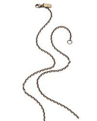 Pamela Love - Metallic Oculus Pyramid Pendant Necklace - Lyst