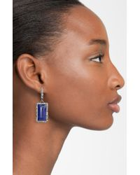 Alexis Bittar | Blue Miss Havisham Drop Earrings | Lyst