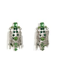 Tom Binns | Multicolor Earrings with Chains in Multi | Lyst