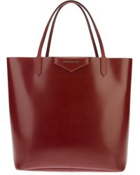 Givenchy | Brown Antigona Large Shopping Tote | Lyst