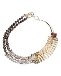 Iosselliani - Metallic Rolex Chain Necklace - Lyst