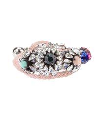 Shourouk | Natural Woven Bracelet | Lyst