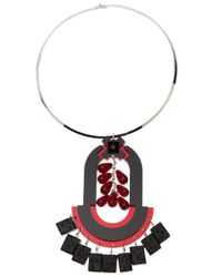 Holly Fulton | Pink Geometric Choker Necklace | Lyst