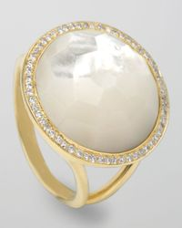 Ippolita | Metallic Lollipop Ring Motherofpearl | Lyst