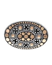 John Hardy - Metallic Dot Oval Eastwest Ring Size 7 - Lyst