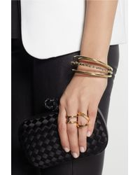 Anndra Neen | Metallic Barnacle Sunset Silver and Goldtone Cuff | Lyst