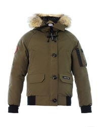 Canada Goose | Green Chilliwack Furtrim Down Coat for Men | Lyst