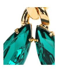 Etro | Metallic Embellished Clipon Earrings | Lyst