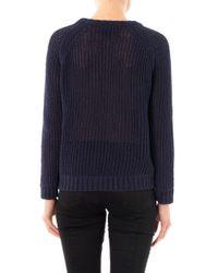 Rag & Bone - Blue Kendall Cotton Sweater - Lyst