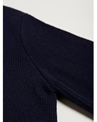 Damir Doma - Blue Mens Kapo Knitted Round Neck Sweater for Men - Lyst