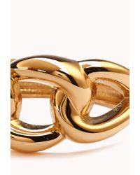 Forever 21 - Metallic Classic Looped Cuff - Lyst