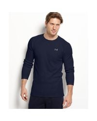 Under Armour - Blue Waffle Thermal Top for Men - Lyst