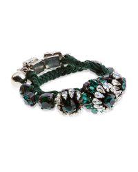 Shourouk   Green Rococo Bracelet   Lyst