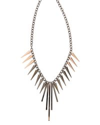Gemma Redux - Metallic Spike Necklace - Lyst