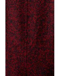 Ivanka Trump | Red Pleat Collar Coat | Lyst