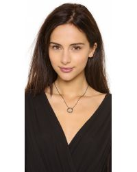 Alexis Bittar - Metallic Small Aura Pave Necklace - Lyst