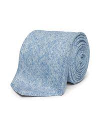 Club Monaco - Blue Shipley Solid Wool Tie for Men - Lyst