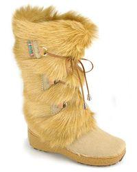 Pajar | Natural Fur Boot | Lyst
