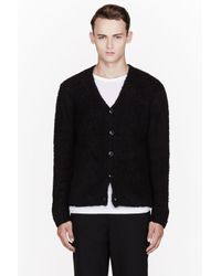 T By Alexander Wang | Black Wool Piped Sweater for Men | Lyst