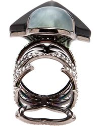 Eddie Borgo - Metallic Hinged Ring - Lyst