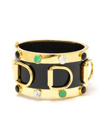 Eddie Borgo | Metallic Inlaid D Ring Cuff | Lyst