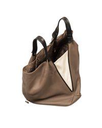 Furla | Brown Elisabeth Buckle Hobo Bag | Lyst