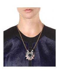 Shourouk - Metallic Leitmotiv Helga Embellished Necklace - Lyst