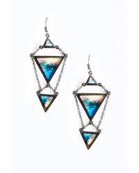 Cheap Monday - Blue Dreamy Earrings - Lyst