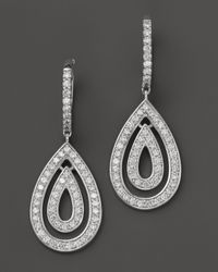 Dana Rebecca - Jessica Leigh Diamond Earrings in 14k White Gold 117 Ct Tw - Lyst