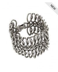 AllSaints | Metallic Amaris Bracelet | Lyst