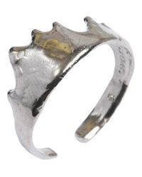 Bjorg - Metallic Dew Of Dream Finger Tip Adjustable Ring - Lyst