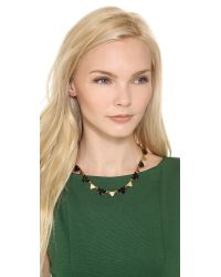 Madewell - Metallic Crystal Statement Necklace - Lyst
