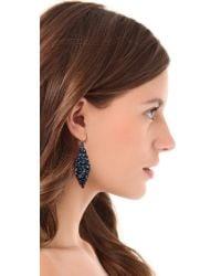 Alexis Bittar   Blue Nova Marquis Earrings   Lyst