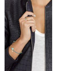 Inez & Vinoodh - Metallic 18-Karat Gold Emerald Interlinked Rings - Lyst