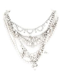 Tom Binns | Metallic Pearls in Peril Necklace | Lyst