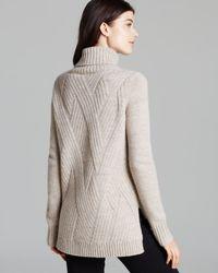 Vince - Natural Sweater Traveling Turtleneck - Lyst