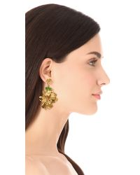 Aurelie Bidermann - Metallic Tangerine Clip On Earrings - Lyst