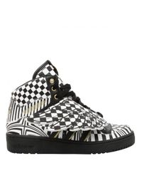 2e6822f1a8bb Jeremy Scott for adidas Unisex Wings Opart High Top Trainers ...