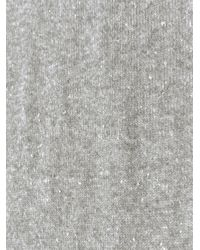 Alexander Wang - Gray Donegal Cashmere Scarf for Men - Lyst