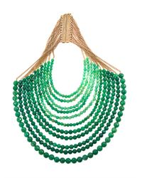 Rosantica | Green Raissa Jade Necklace | Lyst