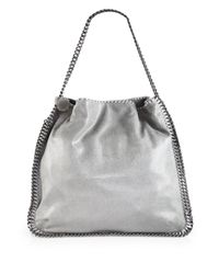 Stella McCartney | Natural - 'falabella' Tote - Women - Polyester - One Size | Lyst