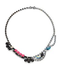 Tom Binns - Faceted Multicolor Necklace - Lyst