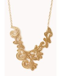 Forever 21 | Metallic Opulent Pastel Necklace | Lyst