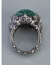 Stephen Webster - Metallic 'les Dents De Le Mer' Crystal Haze Filigree Ring - Lyst